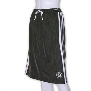 Vintage Adidas 3 Japan retro skirt army green S, M